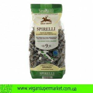 Макарони Spirelli з кропивою (тверда пшениця)