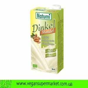 Молочний напій спельта-мигдаль