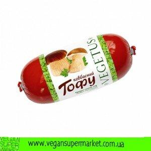 Продукт соєвий ковбасний, з грибами