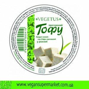 Тофу з грибами в розсолі