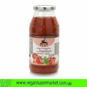 Органічний томатний соус з базиліком