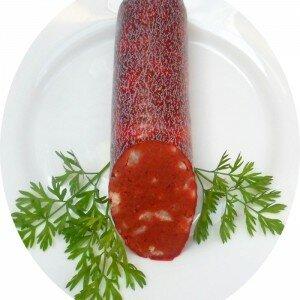 ковбаса напівкопчена рослинна